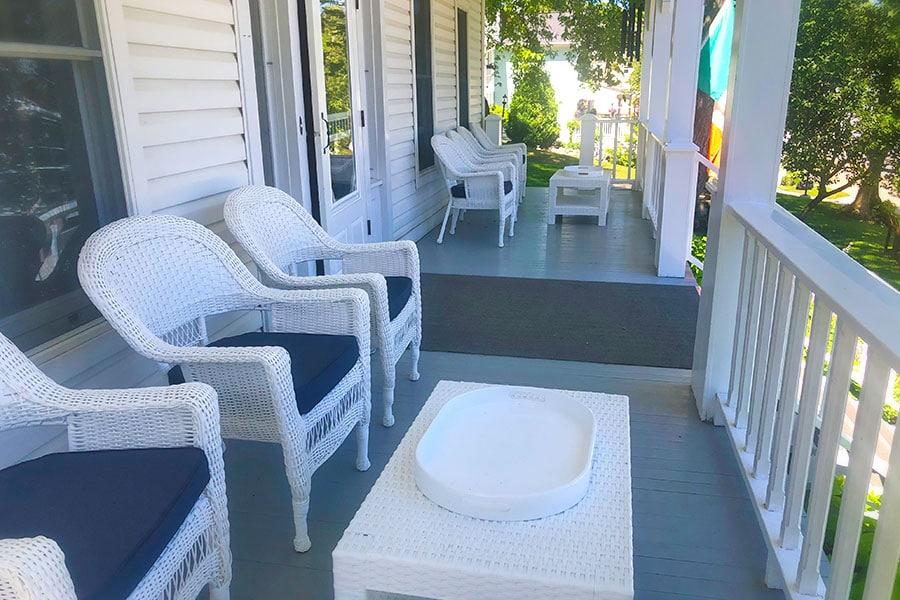 Cloghaun porch