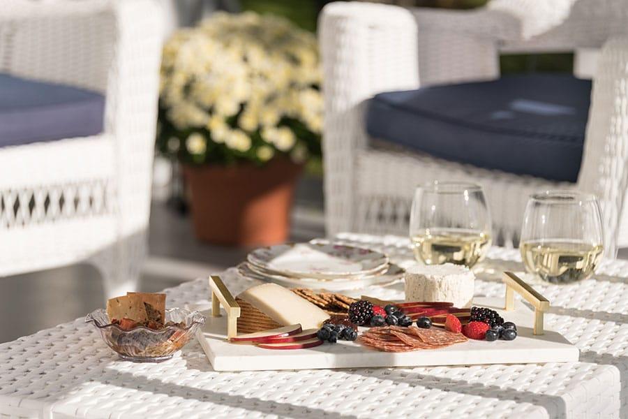 Cloghaun porch cheese plate